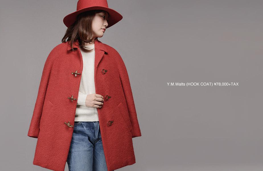 Y.M.Walts-HOOK COAT