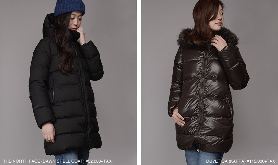 THE NORTH FACE-DAWN SHELL COAT/DUVETICA-KAPPA