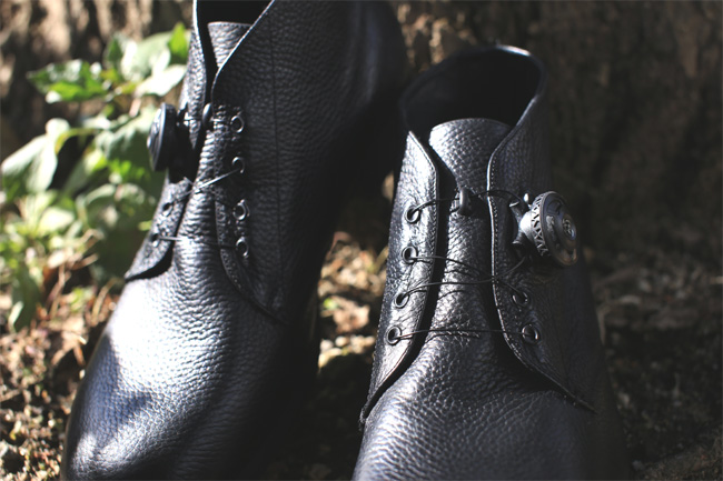 Spectus Shoe Co Smoother Black Loftman